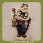 Lovely gift,polyresin boy figurine