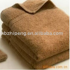 100% cotton plain dyed hair towel