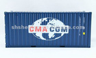 MODEL CONTAINER IN SCALE 1:20 CMA CGM earth