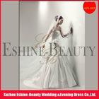 Charming short tulle off white lace applique veil