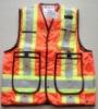 safety vest, reflective vest high visibility vest , high visibility waistcoat