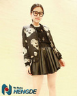 2012 latest fashionable costs,short cotton coat, women coat YXQ078