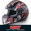 Hot New design Helmet Orange/Silver4#