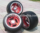 ALLOY WHEEL(ZXAW-10-02)Painting red after polish