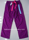 Ladies' 100% Cotton Pajama Pant 17000pcs-KF3561