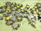 no polarity 31mm 2W COB festoon C5W auto led