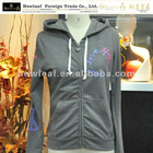 ladies new fashion hoodies sweatshirt hoodies(zipper-up), print long sleeve hoodies,outwear, knit sport hoodies,