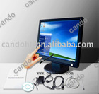 17'' resistive touch screen
