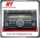 Car CD for Nissan versa two din with 6 CD player