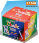 Color Dustless Chalk For School