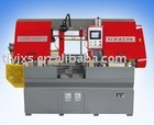 Automatic number control metal band sawing machine