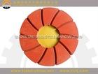 125mm Flexible polsihing pad abrasive stone for clazed tiles