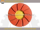 125mm Flexible polsihing pad abrasive stone for clazed tiles