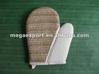 naturel sisal bath glove