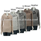 ladies 100%cotton spring/summer knitted vest sweater