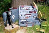 CMEC-3012 stainless steel family multifuctional tool set