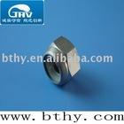 Titanium nylon insert lock nuts----titanium standard parts DIN982 M8