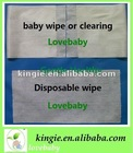 disposable soft bamboo baby dry wipe,wet wipe