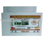2012 new style PP PE plastic hollow sheet plastic notice sign plastic printing twin wall sheet (SW905)