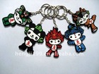 cartoon plastic keychain