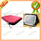 "Portable Speaker Case PU Leather Cover Bag for 10.1"" Tablet PC"
