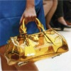2013 new design jelly candy summer yellow tote bag for women