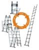 multiple function telescopic ladder
