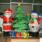 Inflatable Decoration Christmas Tree, Snowman, Santa Claus