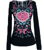 fashion embroider t shirt