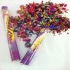 wedding confetti poppers metallic foil
