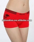new styles fashion nylon seamless ladies boxer briefs