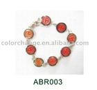 12 color mood bracelet, color changing bracelet