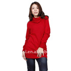 The newest high-neck ladies sweater with long sleeve in 2011