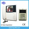 "3.5"" TFT LCD color video door phone kit"