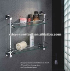 abs and glass towel rack