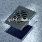 bathroom brass floor drain