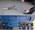 manual handle crimping tool for press fitting and multilayer pipe