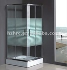 blind hole frameless Shower enclosure