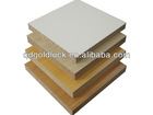 MDF, good quality, low price 1220*2440mm 2-18mm melamine MDF board for furniture