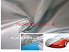 68 Inches Wide Silver PU Coated Taffeta fabric for tent, Cover