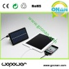 Mysolar bank solar battery charger for iPhone/iPod/iPad