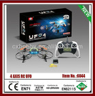 Novelty four-axis 4CH rc aircraft 2.4G quadcopter with light & gyro