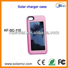 Manufacturer design rechargeable portable solar iphone charger case for Iphone4/4s with CE,ROHS,FCC