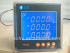 96 square LCD or LED energy meter