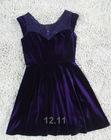 Newest Design Fashion Cashmere Dress Ladies