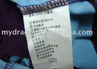 Apparel Washing Care Label Wash Label for clothes