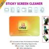 Adhesive microfiber screen cleaner,digi cleaner