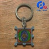 metal classical enamel key chain