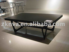 black glass coffee table RBD6704A