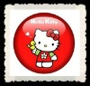hello kitty button badge,pin badge